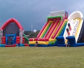 Inflatable Slide Rentals Cincinnati