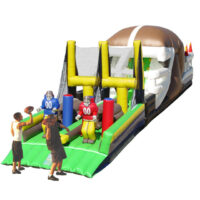 Interactive Inflatable End Zone Scramble Obstacle Course Party Rental Dayton & Cincinnati