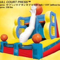 Interactive Inflatable CrossTown Shootout Game Party Rental Dayton & Cincinnati Ohio