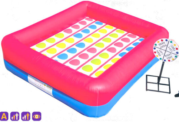 Interactive Inflatable Twister Party Rental Dayton & Cincinnati