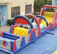 NASCAR Inflatable Obstacle Course