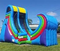 rampage water slide rental