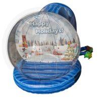human snow globe rental