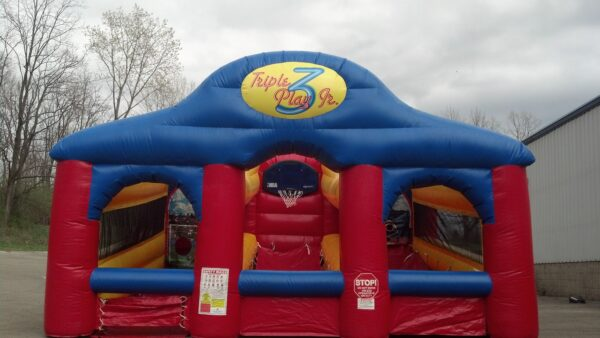 Triple Sports Play Inflatable Party Rental