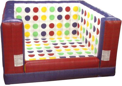 Interactive Inflatable Twister 3-D Party Rental Dayton & Cincinnati