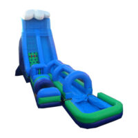 Interactive Inflatable Velocity Extreme Challenge Slide Party Rental Dayton & Cincinnati Ohio
