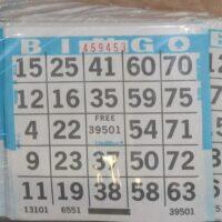 Bingo Card Rental