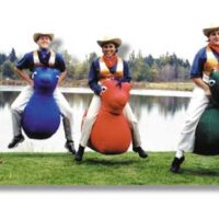 Interactive Inflatables Derby Horse Track Party Rental Dayton & Cincinnati